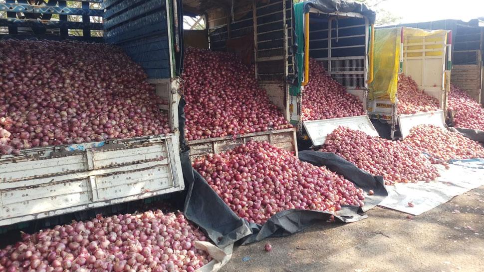 महाराष्ट्र में 80 रुपए किलो बिक रहे हैं प्याज, नई फसल भी है बर्बाद