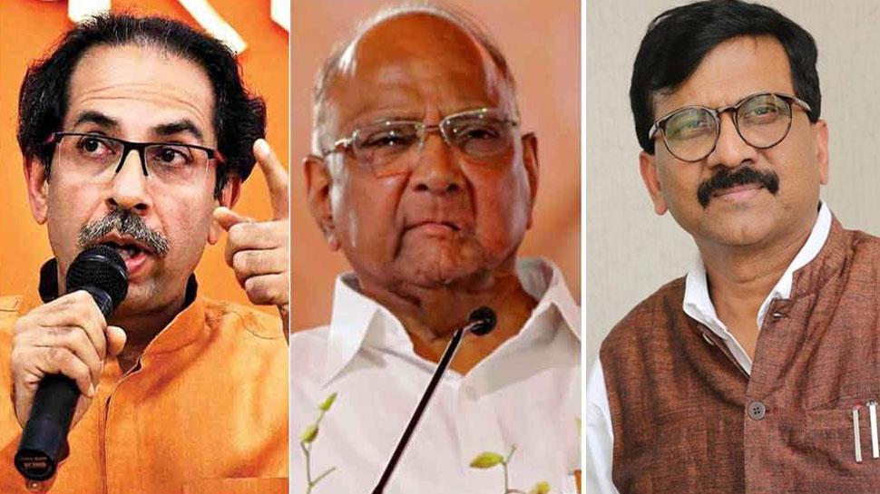 संजय राउत और पवार की 'कार की सवारी' + 24 अक्टूबर = शिवसेना का BJP को गच्चा