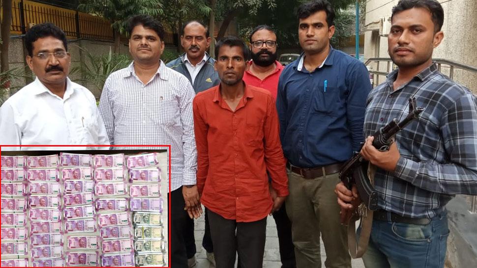 दिल्ली: 7 लाख रुपए नकली नोट बरामद, अंतरराष्ट्रीय गिरोह का भंडाफोड़