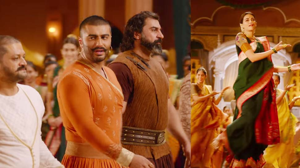 VIDEO: रिलीज होते ही सोशल मीडिया पर छाया 'पानीपत' का नया गाना 'मन में शिवा'