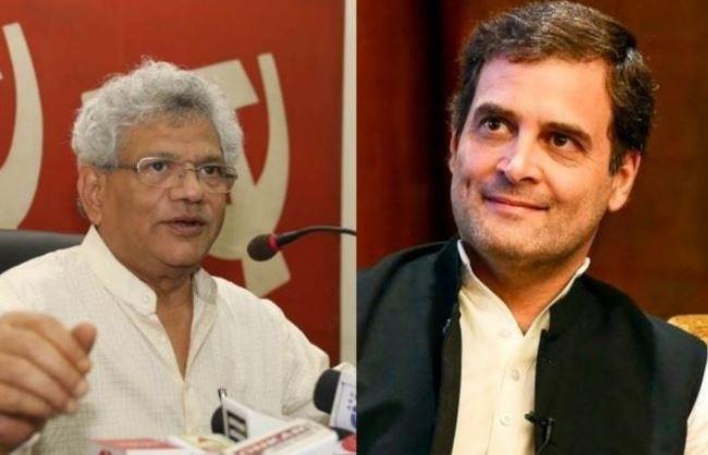 मानहानि मामलाः राहुल गांधी और सीताराम येचुरी करेंगे सुनवाई का सामना