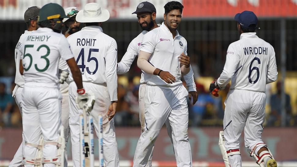 IND vs BAN 2nd test: टीम की लागातार चौथी पारी की जीत, उमेश यादव का पंजा
