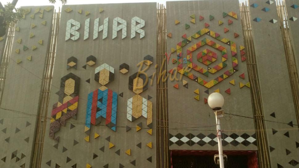 व्यापार मेला: बिहार पवेलियन में बु़द्ध की प्रतिमा का दिख रहा क्रेज, जमकर हो रही खरीददारी