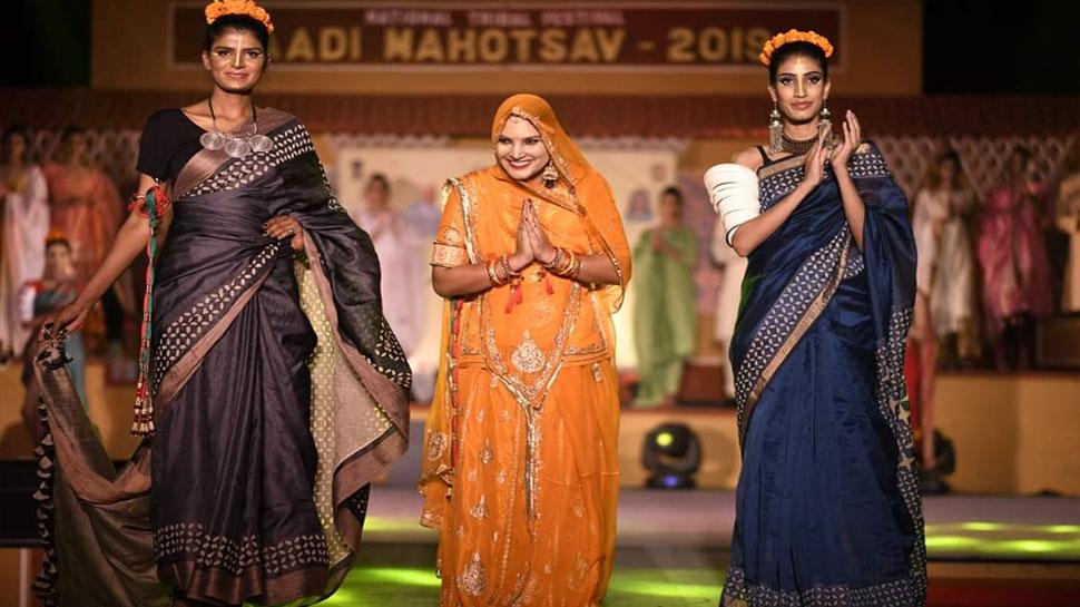 आदि महोत्सव में छाया बाड़मेर की रूमा देवी का कलेक्शन, ट्राइब्स इंडिया ने बनाया 'गुड विल एंबेसडर'