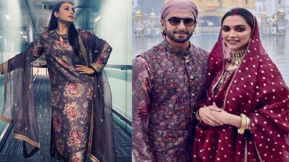 रानी मुखर्जी ने पहनी रणवीर जैसी ड्रेस तो लोगों ने किया बुरी तरह ट्रोल