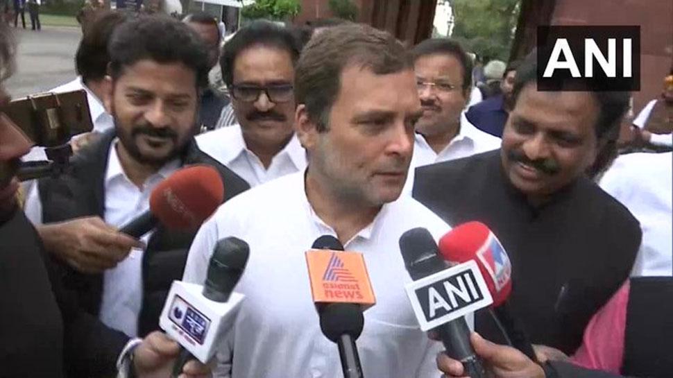 आतंकी प्रज्ञा ने आतंकी गोडसे को देशभक्त कहा, यह भारत के संसदीय इतिहास का काला दिन: राहुल