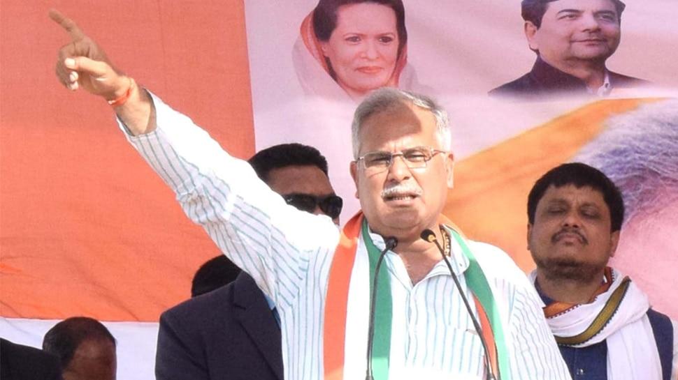 झारखंड चुनाव: भूपेश बघेल का रघुवर सरकार पर हमला, बोले- बेरोजगारी, भ्रष्टाचार में इजाफा
