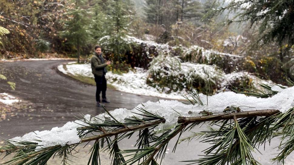 जम्मू कश्मीर: नवंबर माह में बर्फबारी का टूटा 60 साल पुराना रिकॉर्ड