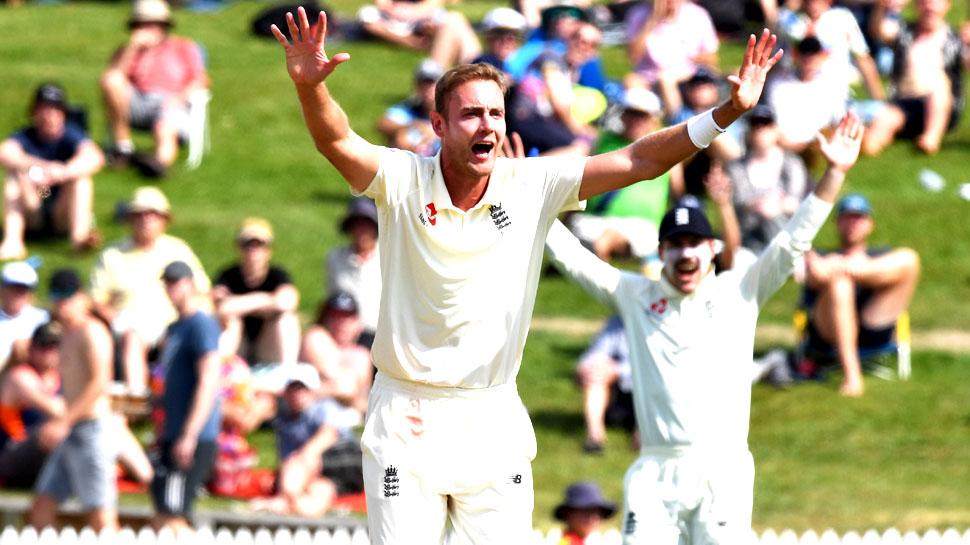 ENGvsNZ: ब्रॉड ने कराई इंग्लैंड की वापसी, पर बल्लेबाजों ने फिर किया निराश