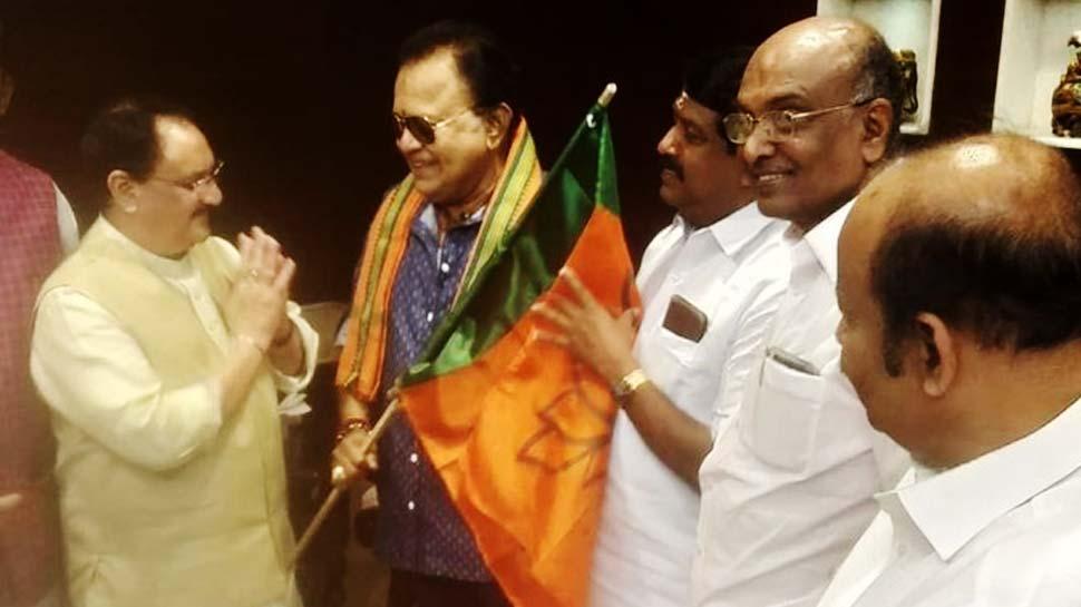 तमिल फिल्मों के मशहूर अभिनेता राधा रवि ने थामा BJP का हाथ