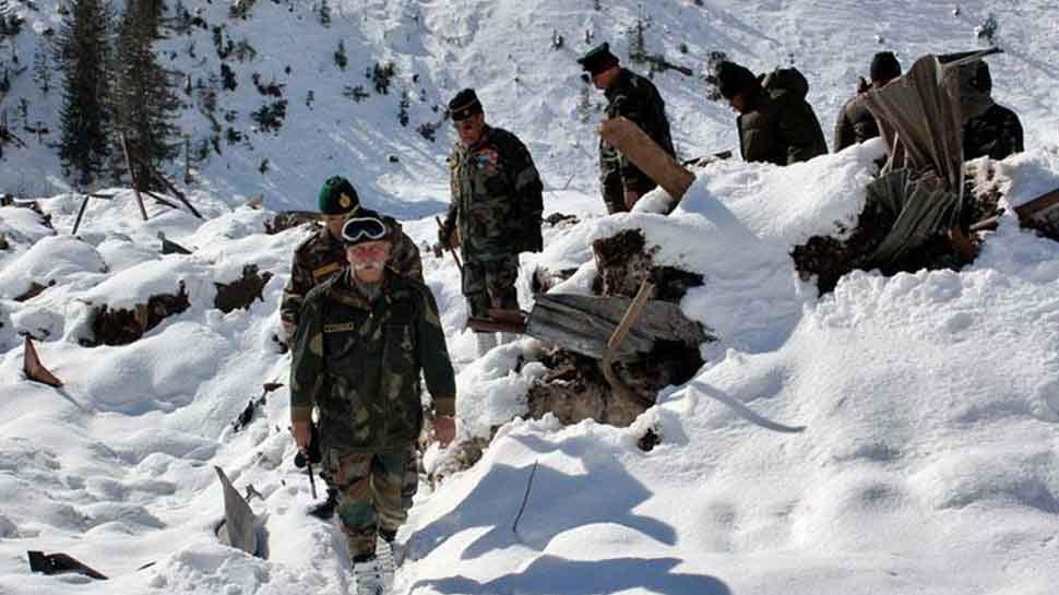 दक्षिणी सियाचिन में हिमस्खलन, भारतीय सेना का दल चपेट में आया; 2 जवानों की मौत