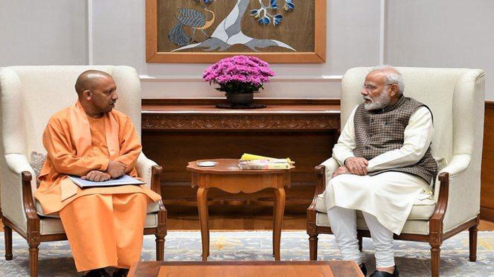 मुख्यमंत्री योगी आदित्यनाथ ने की पीएम मोदी से मुलाकात की, कई मुद्दों पर हुई चर्चा