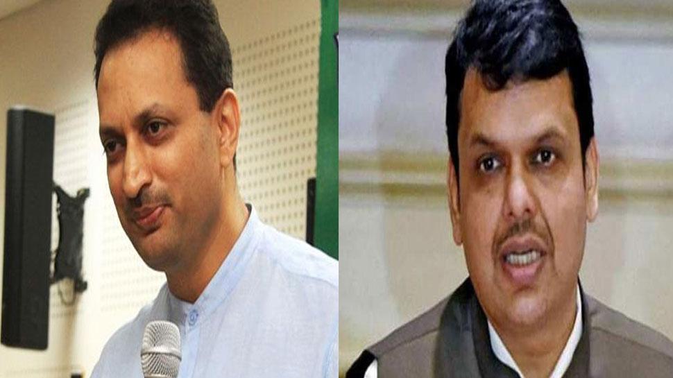 BJP सांसद का दावा, '40000 करोड़ केंद्र को देने के लिए फडणवीस बने थे 80 घंटे के लिए CM'