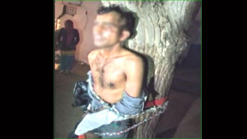 झुंझुनूं: मंगेतर से मिलने फिल्मी स्टाइल में पहुंचा युवक, ग्रामीणों ने पकड़कर पेड़ से बांधा