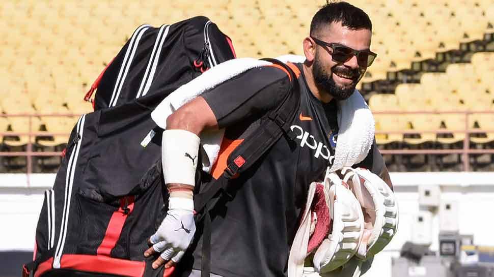 INDvsWI: विंडीज से मुकाबले के लिए हैदराबाद पहुंची टीम इंडिया, विराट ने शेयर की तस्वीर