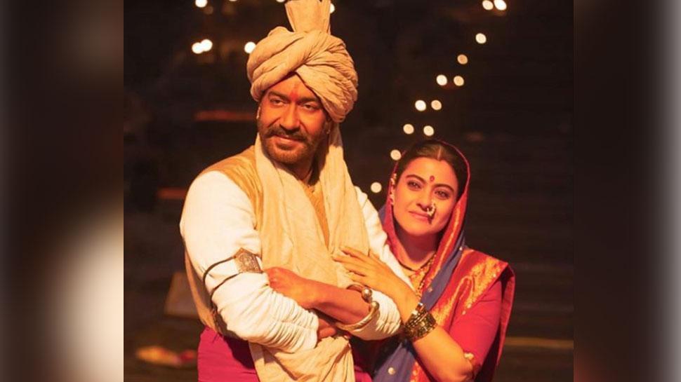सामने आई 'तानाजी' से काजोल-अजय देवगन की नई तस्वीर! लोग बोले- 'जबरदस्त'