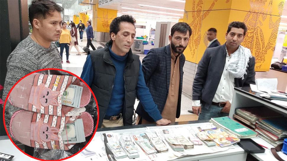 चप्पलों और बैग में छिपा रखे थे 35 लाख रुपए के डॉलर, IGI एयरपोर्ट पर विदेशी नागरिक दबोचे