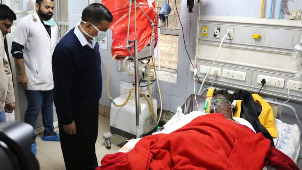 Delhi Fire: घायलों से मिलने अस्पताल पहुंचे CM केजरीवाल, बोले- दम घुटने से हुई ज्यादा मौतें