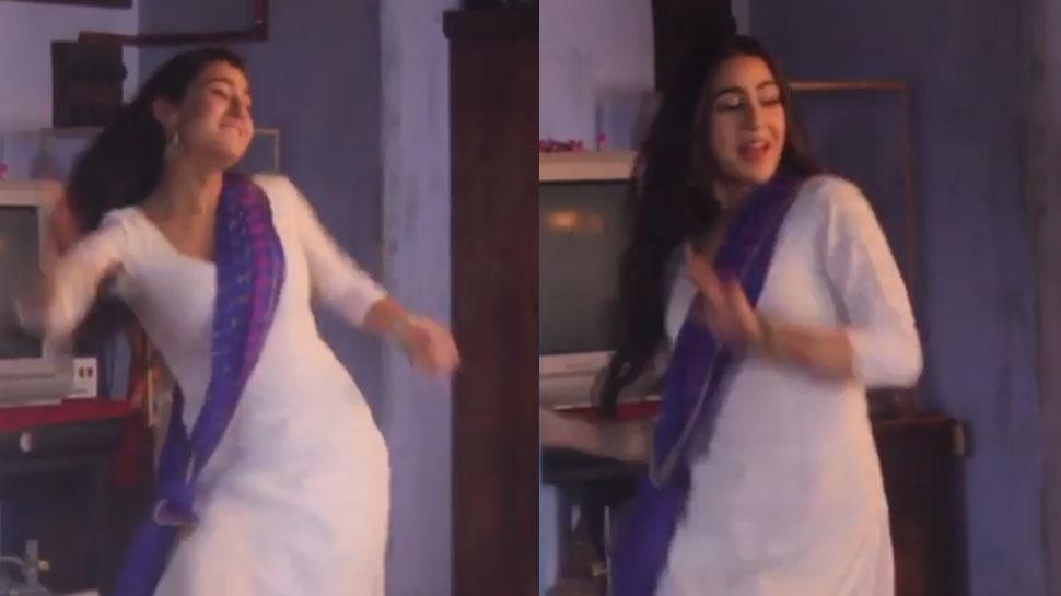 सारा अली खान की इस अदा ने लूटा लोगों का दिल! VIDEO देखकर फैंस बोले- 'How Cute'