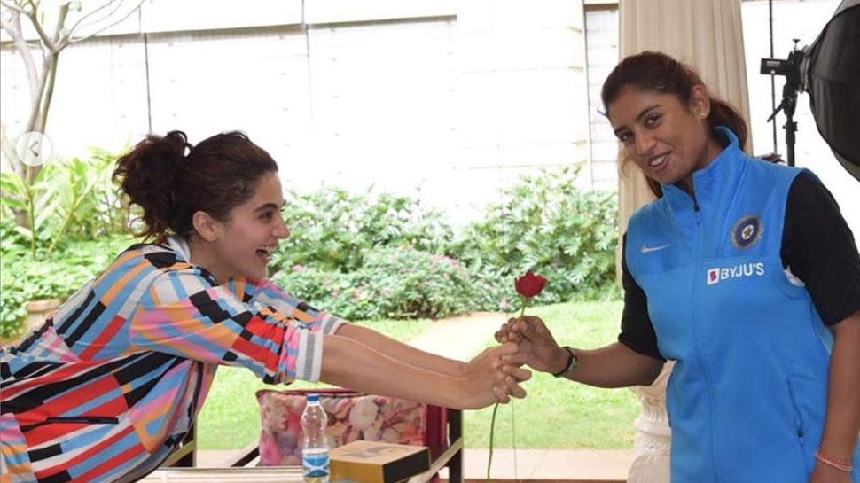 मिताली राज की बायोपिक को लेकर तापसी पन्नू ने खोला राज! इस दिन शुरू होगी शूटिंग