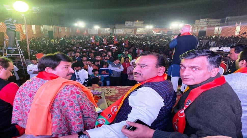 दिल्ली में बीजेपी पीएम मोदी को धन्यवाद करने के लिए कर रही जनसभा, जानिए क्या है वजह