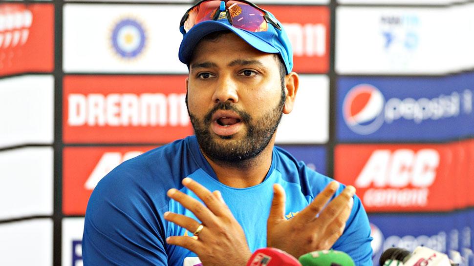 INDvsWI: रोहित पर दिखा तीसरे टी20 मैच का दबाव, बोले- विश्व कप दूर, अभी तो विंडीज...