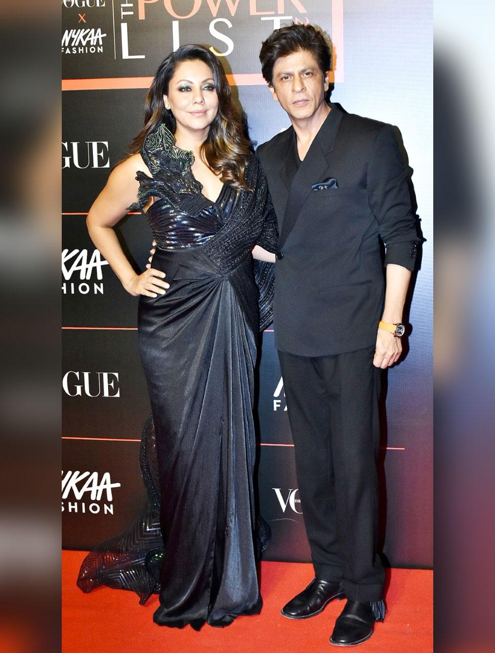 Shahrukh Khan With Gauri