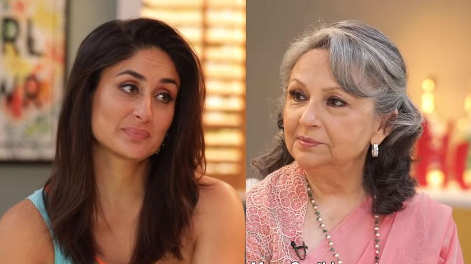 VIDEO: करीना ने सास शर्मिला से पूछा, 'तैमूर, सारा, इब्राहिम, इनाया में कौन है आंखों का तारा?'