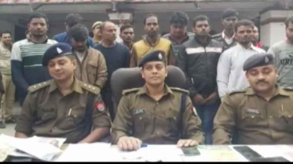 गोरखपुर: चोरी और टप्पेबाजी की घटनाओं को अंजाम देने वाले गिरोह का भंडाफोड़, 16 गिरफ्तार