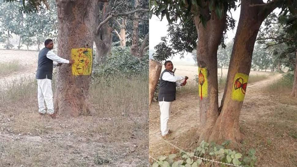 पेड़ों को बचाने के लिए इस आदमी ने देवी-देवताओं का लिया सहारा, कहा- 'मेरा इलाका हरा-भरा हो गया'