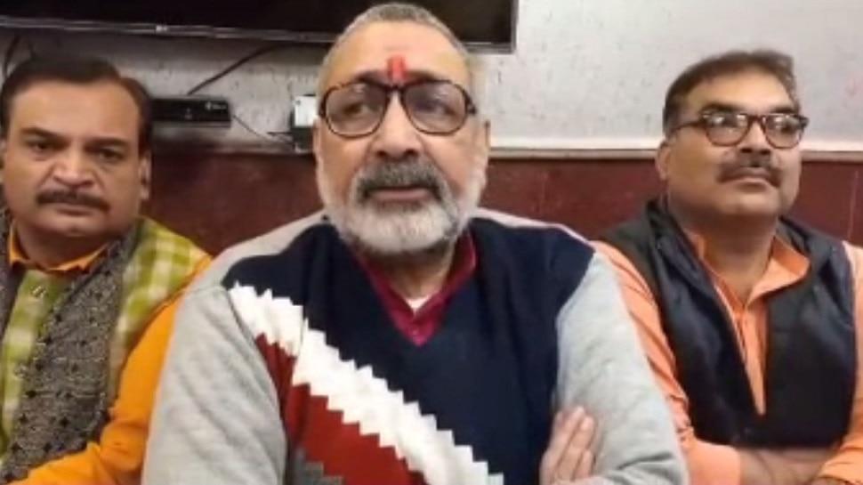 बेगूसराय: गिरिराज सिंह का कांग्रेस पर हमला, कहा- CAA पर भ्रम फैला रहा है विपक्ष