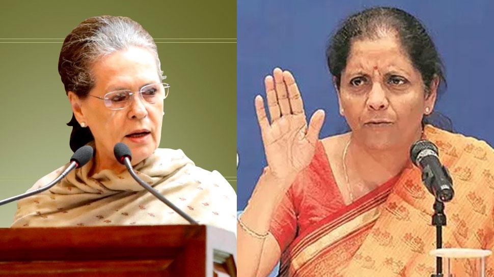 छात्र आंदोलन पर सोनिया गांधी ने BJP को घेरा, निर्मला सीतारमण बोलीं- घड़ियाली आंसू न बहाएं