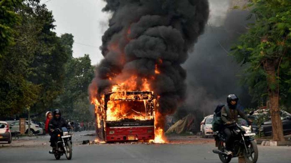 जामिया हिंसा: दिल्ली पुलिस ने MHA को बताया, 31 पुलिसकर्मी घायल हुए, 47 लोगों को पकड़ा
