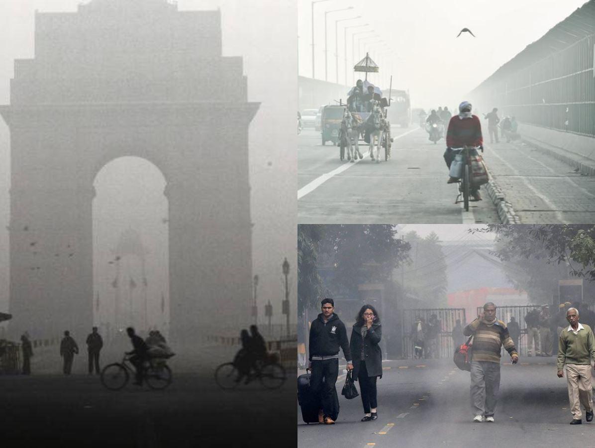 दिल्ली में ठंड का 22 साल का रिकॉर्ड टूटा