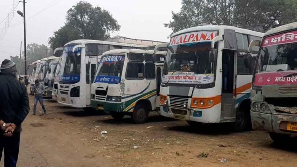 ग्वालियर: परिवहन विभाग की बड़ी कार्रवाई, संयुक्त अभियान चलाकर जब्त कीं 20 अवैध बसें
