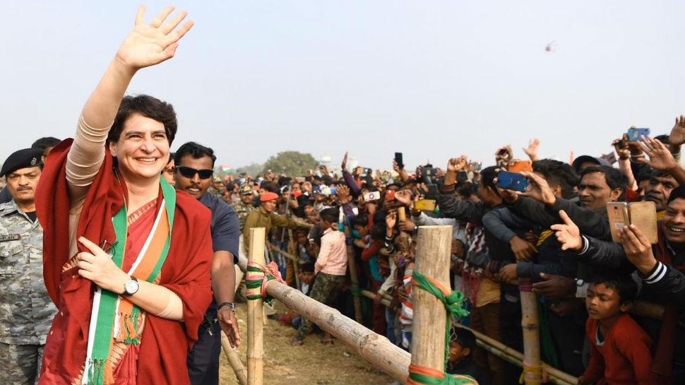 पाकुड़: अमीरों का साढ़े पांच लाख करोड़ कर्ज माफ हुआ लेकिन किसानों का नहीं- प्रियंका गांधी