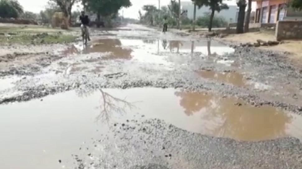 धौलपुर की सड़कों पर मौत का सफर !