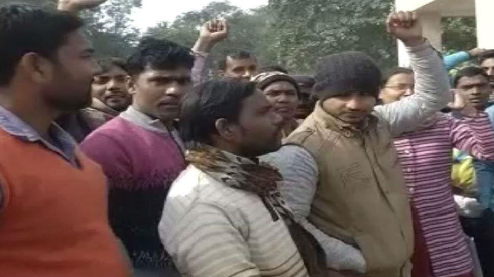 पटना: IGIMS में कर्मचारियों ने की जमकर नारेबाजी, वेतन नहीं मिलने से थे नाराज
