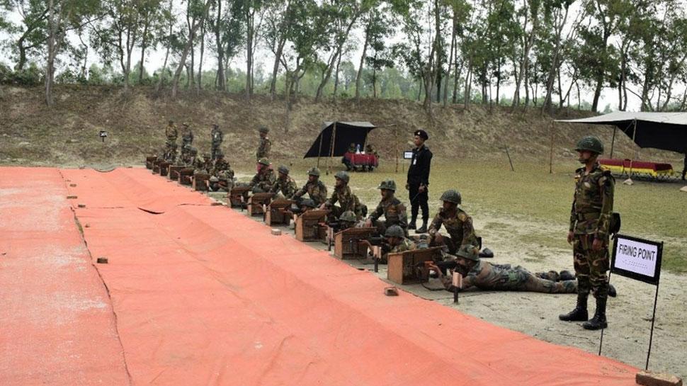 चीनी और भारतीय सेनाओं का 'हैंड-इन-हैंड-2019' आतंकवाद-रोधी प्रशिक्षण