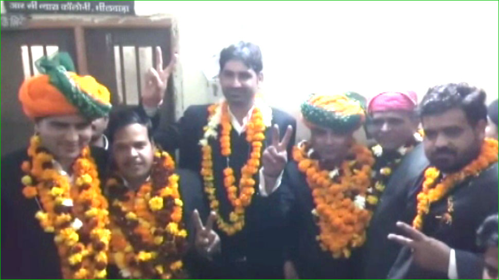 भीलवाड़ा: जिला अभिभाषक संस्था की नई कार्यकारिणी का चुनाव संपन्न, विक्रम सिंह बने अध्यक्ष