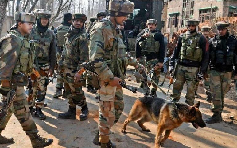 जम्मू कश्मीर के किश्तवाड़ में आतंकी हमले में जवान घायल