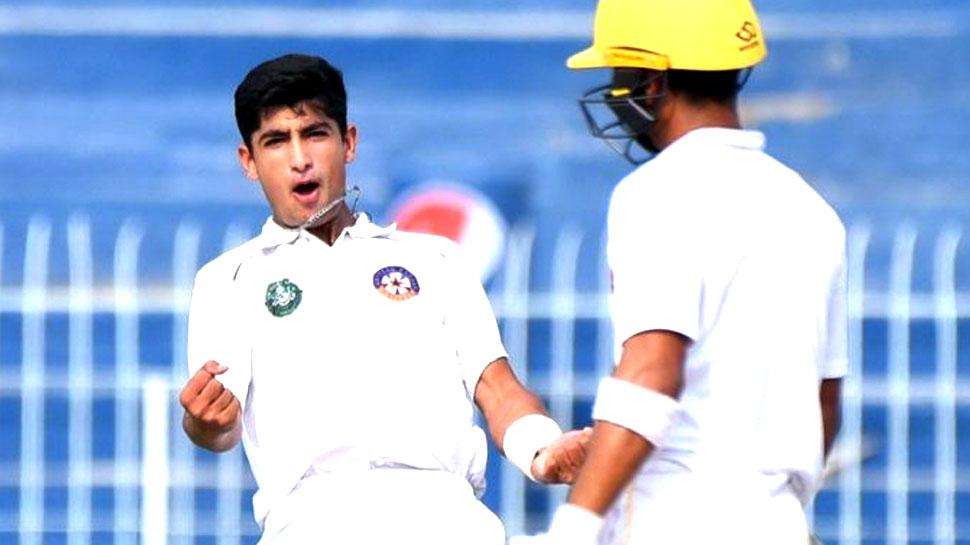 पाकिस्तान: नसीम शाह बने टेस्ट में 5 विकेट लेने वाले सबसे कम उम्र के तेज गेंदबाज