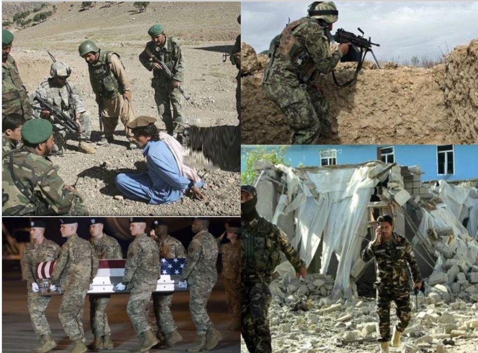 अफगानिस्तान में भारी घमासान, फौज के हमले में 100 से ज्यादा आतंकियों की मौत