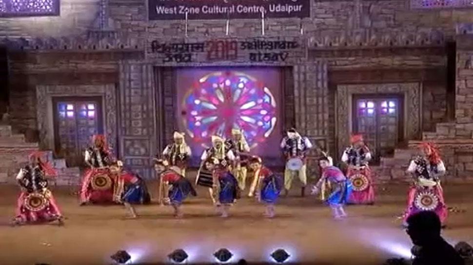 उदयपुर के शिल्पग्राम महोत्सव में बिखरी लोक नृत्यों की छटा, उमड़ी दर्शकों की भीड़