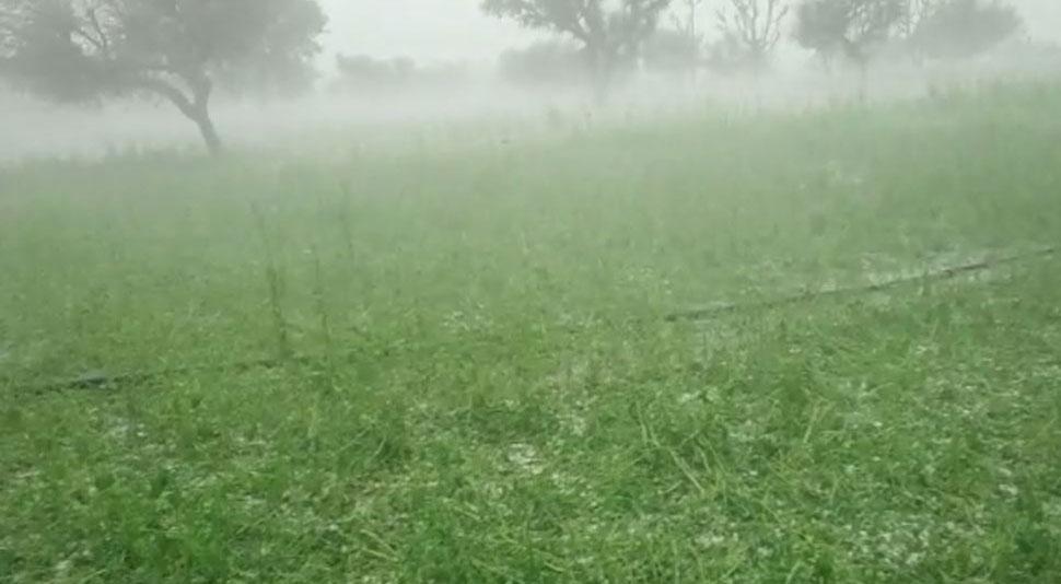 बारां में बदला मौसम का मिजाज, कई जगहों पर हुई तेज बारिश