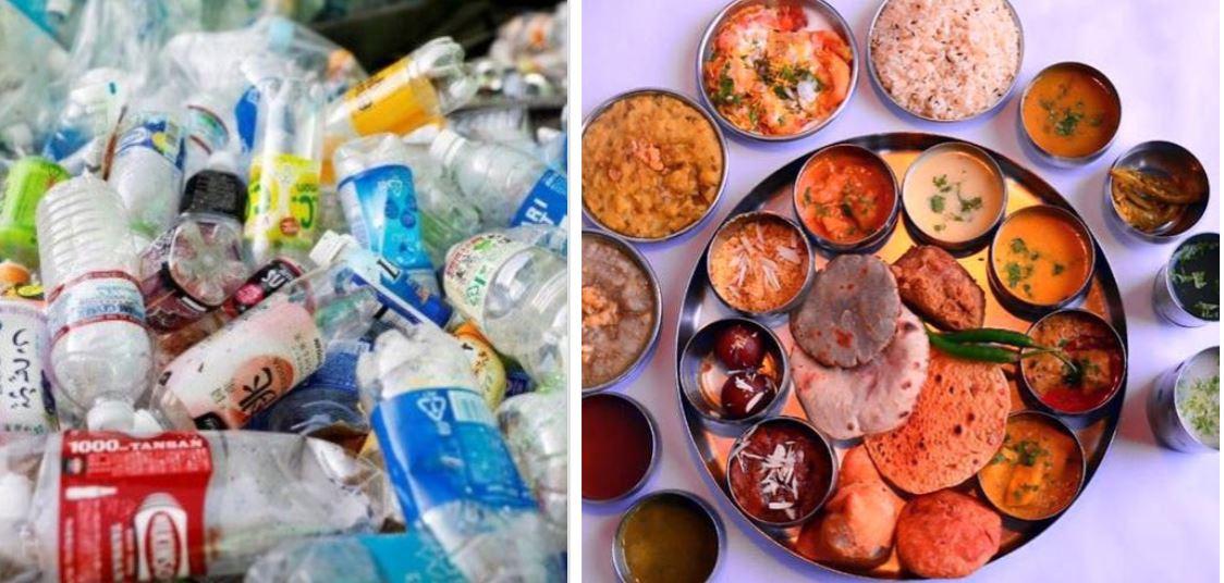 दिल्ली के इस  रेस्टोरेंट में कचरा लेकर पहुंचने पर मिलेगा भर पेट खाना