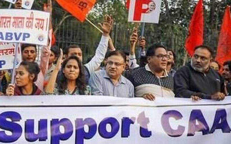 अमेरिका में भारतवंशियों ने CAA- NRC के समर्थन में निकालीं रैलियां