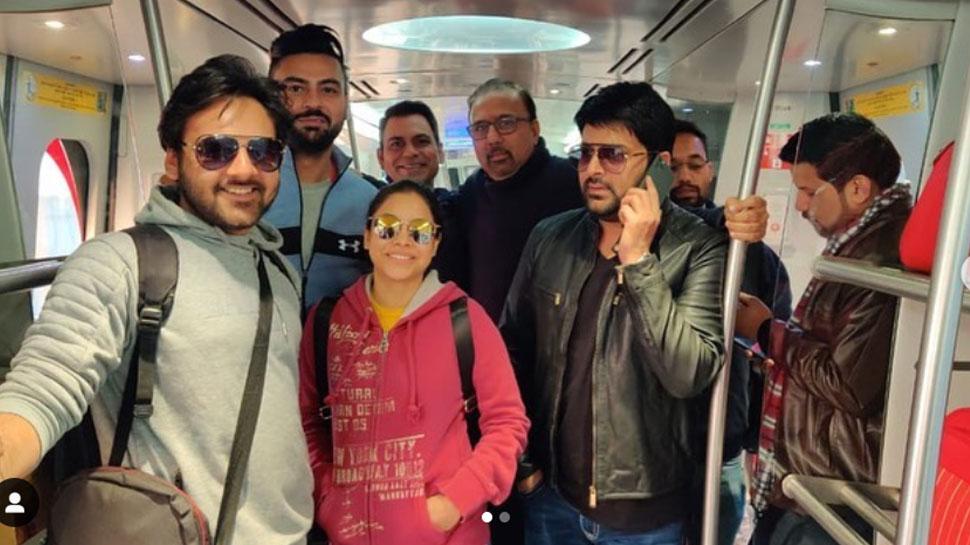 दिल्ली मेट्रो में सफर करने को मजबूर हुए कपिल शर्मा, लोगों को दी ये मजेदार सलाह!