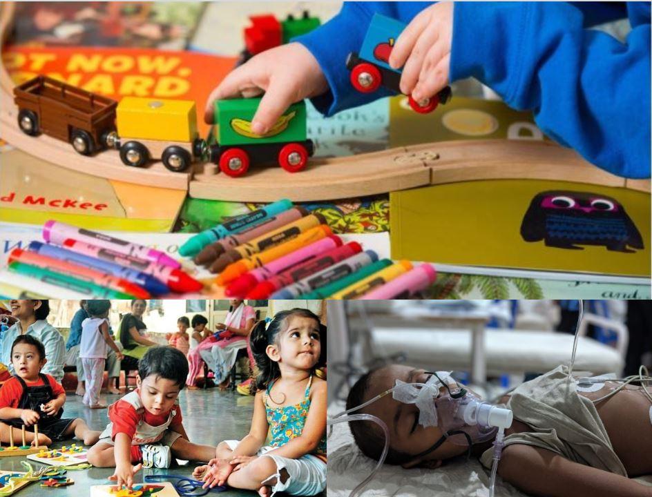 बच्चों के लिए जानलेवा साबित हो सकते हैं खिलौने