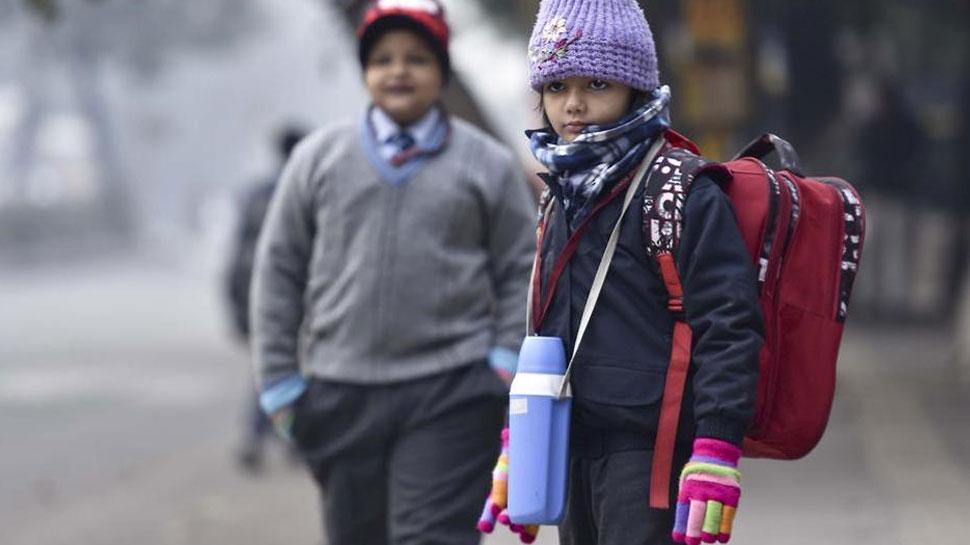 उत्तर प्रदेश में कड़ाके की ठंड, दो दिन बंद रहेंगे गाजियाबाद के सभी स्कूल